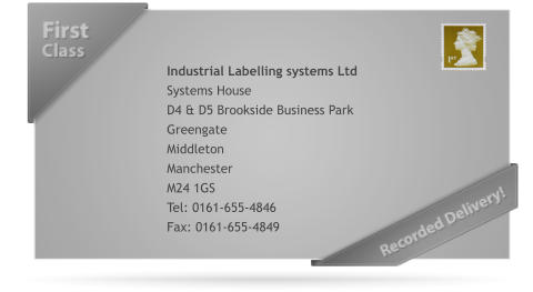 Thank You For Contacting Industrial Labelling Systems Ltd